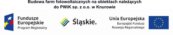 Budowa farm fotowoltaicznych na obiektach należących do PWiK sp. z o.o. w Knurowie
